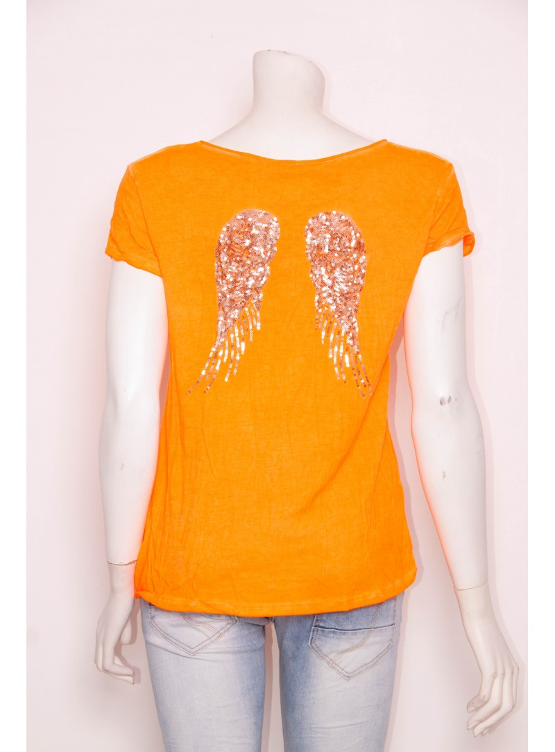 Tee-shirt ANGEL dos ailes *88550